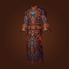 Zandalari Robes of the Final Rite, Robes of Mutagenic Blood, Waistband of Elder Falcarius, Zandalari Robes of the Final Rite, Robes of Mutagenic Blood Model