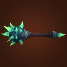 Heavy Geode Mace, Heavy Geode Mace, Craclking Geode Mace Model
