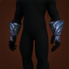 Hrydshal Handwraps, Goliath Wraps of Hridmogir, Runespeaker's Gloves, Blackfeather Handwraps, Pretty Silk Gloves Model