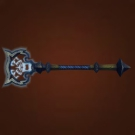 Ghost Iron Staff Model