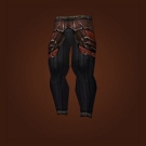 Deadly Gladiator's Mooncloth Leggings, Deadly Gladiator's Satin Leggings Model