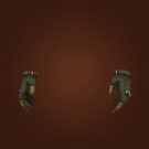 Rockhide Gloves, Morningscale Gauntlet, Gauntlets of Elemental Torment Model