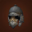 Stonepath Helm, Spiritforged Helm, Thought-Purifying Protector, Bloodstained Helmet Model