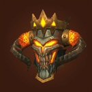 Daybreaker Helm, Helm of Maddening Whispers, Magma Plated Helmet, Magma Plated Faceguard Model