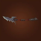 Beakless Polearm, Nethergarde Spear, Blacksoul Polearm, Mobus's Dripping Halberd Model
