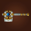 Mace of the Order, Blesswind Hammer, Sporeggar Smasher, Lightsworn Hammer Model