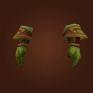 Tracker's Gloves, Bile-Covered Gauntlets Model