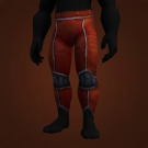 Red Mageweave Pants, Cindercloth Leggings, Imperial Red Pants, Leggings of the Festering Swarm, Bloodfire Leggings, Pantaloons of Flaming Wrath, Pantaloons of Flaming Wrath Model