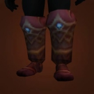 Replica Knight-Lieutenant's Dragonhide Footwraps, Replica Knight-Lieutenant's Dragonhide Treads Model