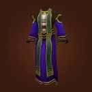 Frostweave Robe, Robe of Winter Night, Kirin Tor Apprentice's Robes Model