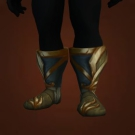 Darkfiend Slippers, Nightvale Footwraps, Nightvale Sandals, Crescent Vale Sandals, Footwraps of the Receding Nightmare Model