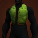 Green Woolen Vest Model