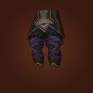 Jade Heart Leggings, Very Manly Leggings, Deposer's Leggings, Contender's Silk Pants, Leggings of the Frenzy, Leggings of the Frenzy, Leggings of Unleashed Anguish Model