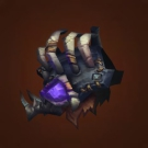Malevolent Gladiator's Leather Spaulders, Crafted Malevolent Gladiator's Leather Spaulders Model