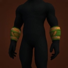 Bracers of Forlorn Spirits, Bracers of Humility, Krom'gar Legionnaire's Leather Bracers, Tracker's Wristguards Model
