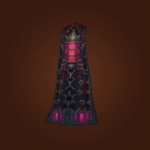 Daybreak Drape, Spikeshard Greatcloak Model