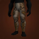 Windfire Legplates, Poxleitner's Leggings of Lights Model