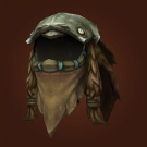 Helm of Meditative Focus, Spirestrider Helm, Stormsteppe Helm, Coif of Grasping Earth Model