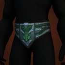 Tyrannical Gladiator's Waistband of Accuracy Model