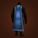 Caretaker's Cape, Spore-Soaked Vaneer, Suede Cloak Model