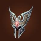 Headguard of Radiant Glory, Helmet of Radiant Glory, Faceguard of Radiant Glory Model