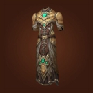 Crafted Malevolent Gladiator's Scaled Chestpiece Model