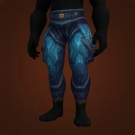 Legguards of the Emerald Brood, Tempest Keeper Leggings Model