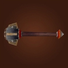 Mori's Gear Stick, Royal Diplomatic Scepter, Timeworn Mace Model