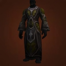 Duskweave Robe, Black Duskweave Robe Model