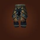 Tyrannical Gladiator's Leather Legguards Model