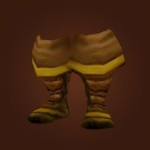 Adventurer's Boots, Boots of the Shadow Flame, Thick Draenic Boots Model