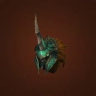 Crafted Dreadful Gladiator's Dreadplate Helm Model