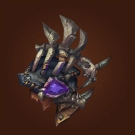 Crafted Malevolent Gladiator's Leather Spaulders Model