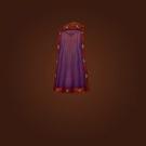 Emblazoned Cloak, Ermine Ruff Cloak Model