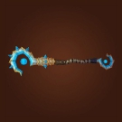 Vicious Gladiator's Battle Staff Model
