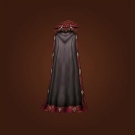 Nocturnal Cloak, Blackflame Cape, Peerless Cloak, Nightshade Cloak Model