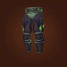 Crimson Acolyte Pants, Crimson Acolyte Leggings, Leggings of the Refracted Mind Model