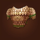Copper Chain Vest Model