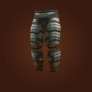Silvered Bronze Leggings Model