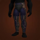 Brutal Gladiator's Silk Trousers Model