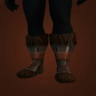Iceborne Boots, Charred Treads, Crocscale Moccasins, Spiked Iceclimber's Boots, Mammoth Hide Galoshes, Boots of the Fallen Thane, Geist Boots, Wildsoul Footpads, Wildsoul Boots, Wildsoul Treads Model