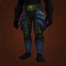 Saurok Stalker's Legguards, Spearman's Jingling Leggings, Sparkstring Chain Leggings, Spearman's Jingling Leggings Model