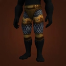 Mighty Chain Pants, Fortified Leggings Model