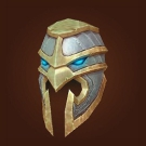 Vicious Gladiator's Scaled Helm, Vicious Gladiator's Ornamented Headcover Model