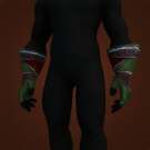 Wrathful Gladiator's Ringmail Gauntlets, Wrathful Gladiator's Linked Gauntlets, Wrathful Gladiator's Mail Gauntlets Model