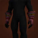 Emblazoned Gloves Model