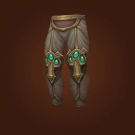 Crafted Malevolent Gladiator's Scaled Legguards, Crafted Malevolent Gladiator's Ornamented Legplates Model