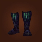 Flamestalker Boots, Runed Ironhide Boots Model