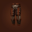 Artfully Tooled Leggings, Iceborne Leggings, Hydrafang Breeches, Tattooed Deerskin Leggings, Leggings of Heightened Renewal, Geist Legguards, Wildsoul Britches, Wildsoul Legguards, Wildsoul Leggings Model