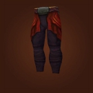 Legguards of Determined Resolve, Raging Pyroclasm Leggings Model